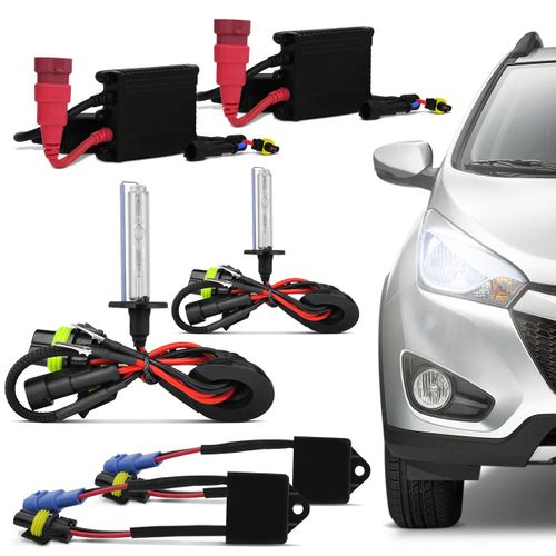 Kit-Xenon-Completo-H1-4300K-Tonalidade-Branca---Canceller-16V-Connect-Parts--1-