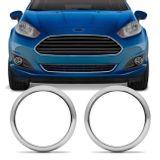 Par-de-Apliques-Cromados-Moldura-Aro-do-Farol-de-Milha-Ford-New-Fiesta-14-a-17-Encaixe-Sob-Medida-connectparts--1-