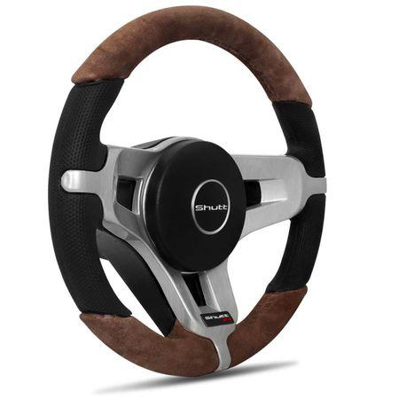 Volante-Mustang-Jetta-Alemao-Couro-Suede-Whisky-Superior-E-Inferior-Aplique-Aco-Escovado-Emblema-Gtr-connectparts--2-