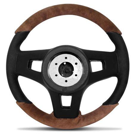 Volante-Mustang-Jetta-Alemao-Couro-Suede-Whisky-Superior-E-Inferior-Aplique-Aco-Escovado-Emblema-Gtr-connectparts--4-