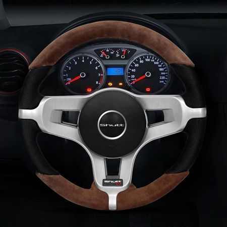 Volante-Mustang-Jetta-Alemao-Couro-Suede-Whisky-Superior-E-Inferior-Aplique-Aco-Escovado-Emblema-Gtr-connectparts--5-