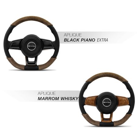 Volante-Mk7-Universal-Couro-Suede-Whisky-Superior-Inferior-Aplique-Madeira-Black-Piano-Emblema-Gtr-connectparts--2-