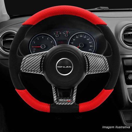 Volante-Mk7-Universal-Couro-Perfurado-Vermelho-Superior-Inferior-Aplique-Fibra-Carbono-Black-Piano-connectparts--6-