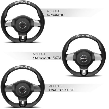 Volante-Jetta-Base-Reta-G2-G3-G4-Couro-Grafite-Superior-Inferior-Aplique-Cromado-Aco-Escovado-Grafit-connectparts--1-