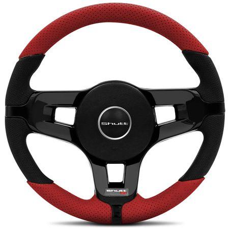 Volante-Mustang-Jetta-Alemao-Couro-Perfurado-Vermelho-Parte-Superior-E-Inferior-Aplique-Black-Piano-connectparts--1-