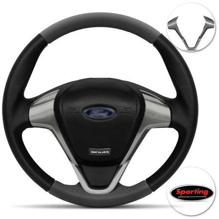 Volante-Ford-Titanium-Universal-Couro-Grafite-Superior-Inferior-Aplique-Grafite-Carbono-connectparts--1-