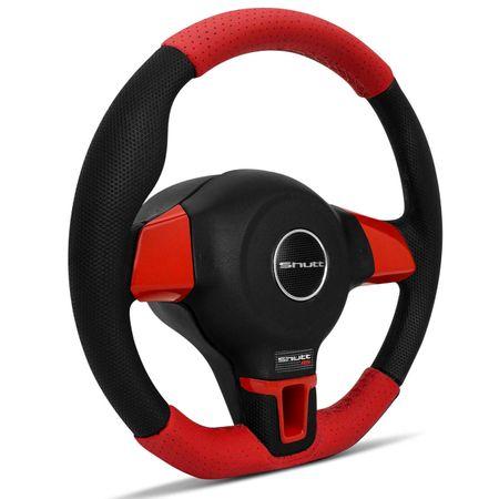 Volante-Jetta-Base-Reta-G2-G3-G4-Couro-Perfurado-Vermelho-Apliques-Vermelho-Carbono-Aco-Escovado-connectparts--1-