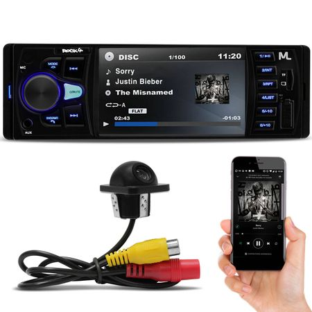 MP3--Player-Multilaser-P3325-Rock-4-Bluetooth-4-Polegadas-USB-SD-FM-AUX---Camera-Re-Connect-Parts--1-