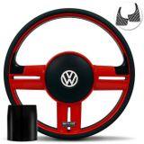 Volante-Shutt-Rallye-Vermelho-RS-Aplique-Preto-e-Carbono---Cubo-Fusca-Voyage-Todos-VW-Connect-Parts--1-
