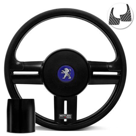 Volante-Shutt-Rallye-Black-Piano-Xtreme-Aplique-Preto-e-Carbono---Cubo-Peugeot-206-306-207-Connect-Parts--1-