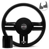 Volante-Shutt-Rallye-Black-Piano-Xtreme-Aplique-Preto-e-Carbono---Cubo-Ka-Focus-Fiesta-Linha-Ford-Connect-Parts--1-