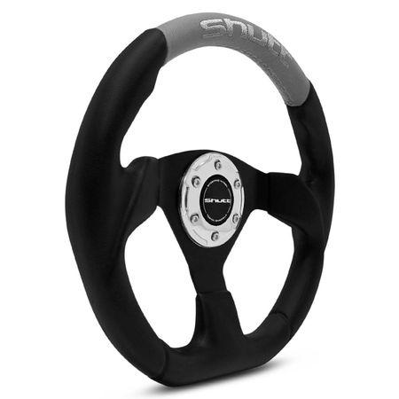 Volante-Esportivo-Shutt-SRHB-Preto-e-Cinza-com-Acionador-de-Buzina---Cubo-Opala-Caravan-connect-parts--1-