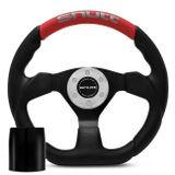 Volante-Esportivo-Shutt-SRRB-Preto-e-Vermelho-com-Acionador-de-Buzina---Cubo-Chevy-Marajo-Connect-Parts--1-