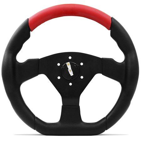 Volante-Esportivo-Shutt-SRRB-Preto-e-Vermelho-com-Acionador-de-Buzina---Cubo-Escort-Logus-connect-parts--1-