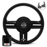 Volante-Shutt-Rallye-Black-Piano-Xtreme-Aplique-Preto-e-Carbono--Cubo-Chevette-Chevy-Marajo-73-a-95--1-
