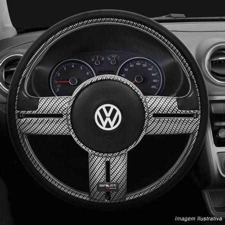 Volante-Shutt-Rallye-Carbon-Xtreme-Apliques-Preto-e-Prata-Escovado---Cubo-Gol-Parati-Golf-Linha-VW-connect-parts--1-
