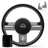 Volante-Shutt-Rallye-Carbon-Xtreme-Apliques-Preto-e-Escovado---Cubo-Ka-Focus-Fiesta-Linha-Ford-Connect-Parts--1-