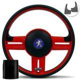 Volante-Shutt-Rallye-Vermelho-RS-Aplique-Preto-e-Carbono---Cubo-Peugeot-206-306-207-connect-parts--1-