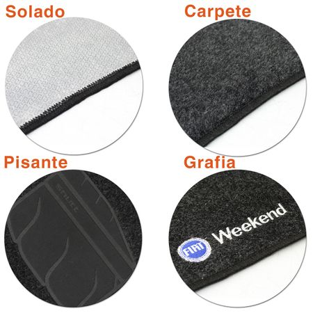 Jogo-de-Tapetes-Carpete-Fiat-Palio-Weekend-2000-a-2012-Grafite-Bordado-5-Pecas-connect-parts--4-