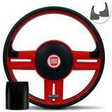 Volante-Shutt-Rallye-Vermelho-RS-Aplique-Preto-e-Carbono---Cubo-Uno-Strada-Linha-Fiat-Connect-Parts--1-
