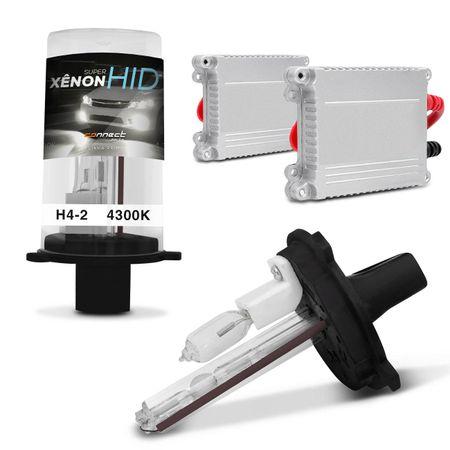 Kit-Xenon-Completo-H4-2-4300K-Tonalidade-Branca-connectparts--1-