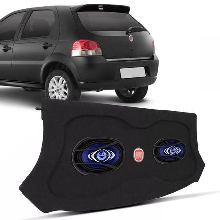 Kit-Tampao-Porta-Malas-Fiat-Palio-G4-08-a-11-Grafite-Emblema-Bordado---Par-Falantes-Pioneer-6x9-200W-Connect-Parts--1-