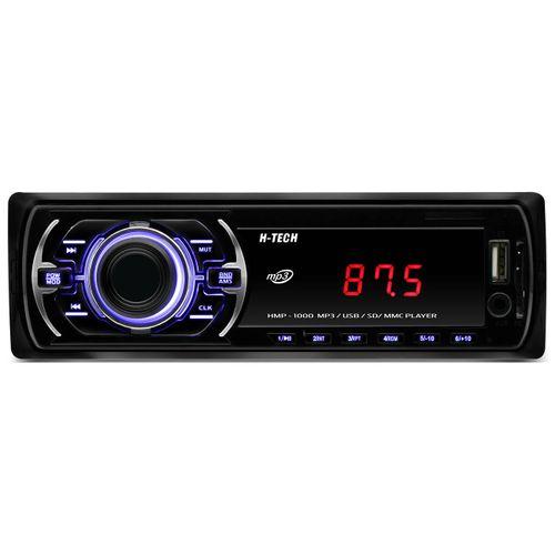 MP3-Player-Automotivo-H-Tech-HMP-1000-1-Din-USB-SD-AUX-P2-FM-RCA-4x25-WRMS-Tela-LED-Pesquisa-Pasta-connectparts--1-