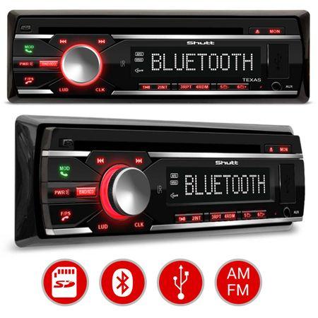 CD-Player-Shutt-Texas-1-Din---Kit-Facil-Foxer---Modulo-Amplificador-Shutt-SH400--2-