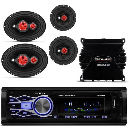 MP3-Player-Automotivo-Shutt-Montana---Kit-Facil-Bomber---Modulo-Amplificador-Shutt-SH400--1-