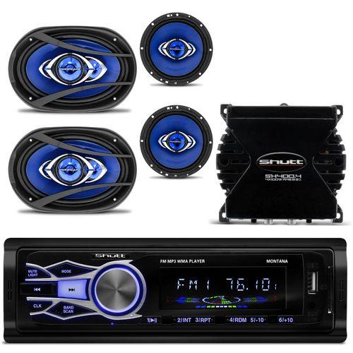 MP3-Player-Automotivo-Shutt-Montana---Kit-Facil-Hurricane---Modulo-Amplificador-Shutt-SH400--1-
