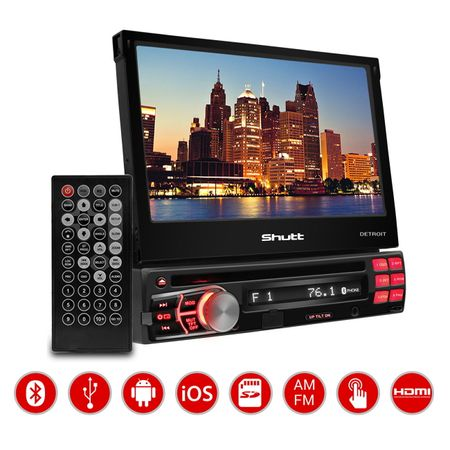 DVD-Player-Shutt-Detroit-7-Pol---Kit-Facil-Foxer---Modulo-Amplificador-Shutt-SH400--2-