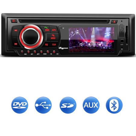 DVD-Player-Automotivo-Quatro-Rodas-MTC6616-1-Din-Tela-LED-3-Pol-Bluetooth-USB-SD-AUX-MP3-FM-Controle-connectparts--1-