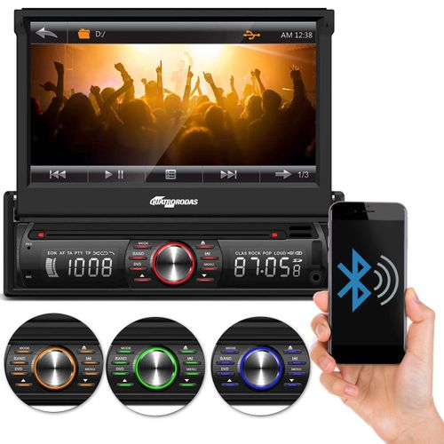 DVD-Player-Retratil-7-Polegadas-Quatro-Rodas-Bluetooth-USB-SD-AUX-Entrada-Camera-de-Re-connectparts--1-