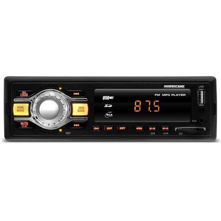 MP3-Player-Automotivo-Hurricane-HR-412-1-Din-USB-SD-AUX-FM-RCA-Tela-LED-4x18-WRMS-connectparts--1-