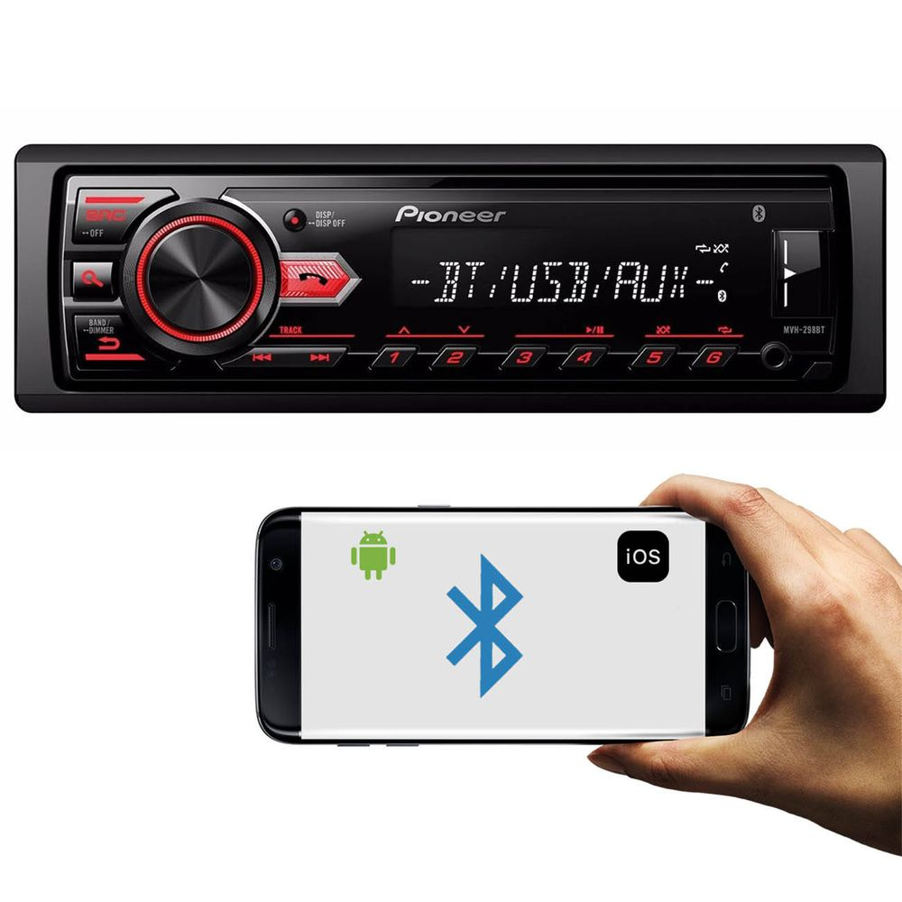 Mp3 player pioneer mvh 298bt usb bluetooth connect parts mp3 player automotivo pioneer mvh 298bt 1 din stopboris Images