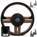 Volante-Shutt-Rallye-Surf-Whisky-GTR-Aplique-Preto-Escovado-e-Carbono---Cubo-Jeep-Willys-57-a-83-connect-parts--1-