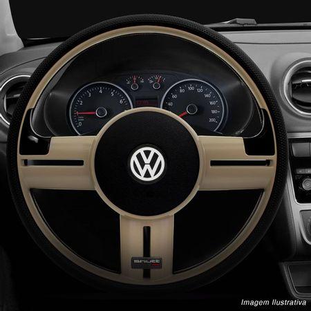 Volante-Shutt-Rallye-Surf-Bege-RS-Apliques-Preto-Escovado-e-Carbono---Cubo-Voyage-Passat-VW-Connect-Parts--1-