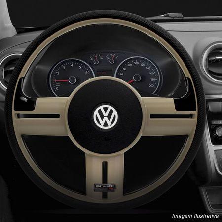 Volante-Shutt-Rallye-Surf-Bege-RS-Apliques-Preto-Escovado-e-Carbono---Cubo-Chevette-Marajo-connect-parts--1-