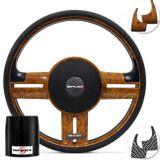 Volante-Shutt-Surf-Madeira-GTR-Apliques-Preto--Madeira-Carbono---Cubo-Jeep-Willys-57-a-83-connect-parts--1-