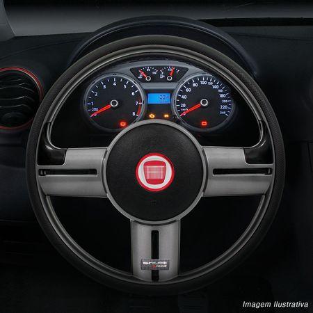 Volante-Shutt-Rallye-Grafite-Extreme-Aplique-Preto-e-Prata-Escovado---Cubo-Uno-Tempra-Elba-Fiorino-connect-parts--1-
