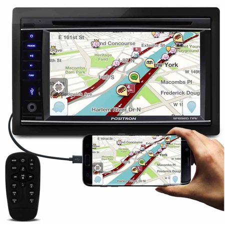 Central-Multimidia-Positron-SP8920-NAV-2-Din-62-Pol-Bluetooth-DVD-USB-GPS-AUX-FM-RCA-Espelhamento-connectparts--1-