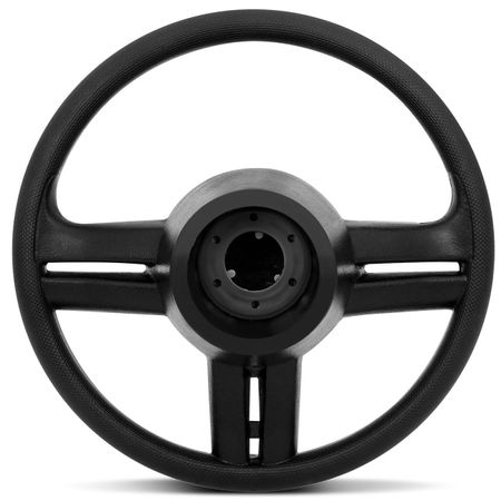 Volante-Shutt-Surf-Black-Piano-Xtreme-Apliques-Prata-Escovado-e-Carbono---Cubo-Palio-Uno-Linha-Fiat-Connect-Parts--1-