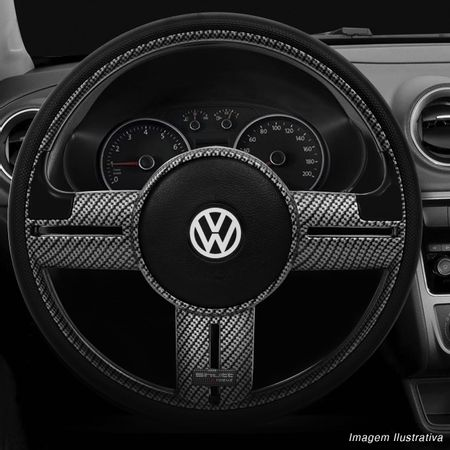 Volante-Shutt-Surf-Carbono-Xtreme-Apliques-Preto-Prata-Escovado-Carbono---Cubo-Gol-Golf-Linha-VW-Connect-Parts--1-