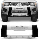 Overbumper-L200-Triton-Mitsubishi-2011-2012-Preto-Prata-Front-Bumper-connectparts--1-