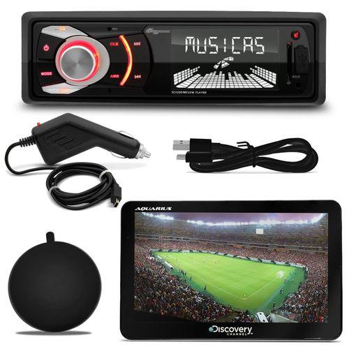 MP3-Player-Quatro-Rodas-MTC6608-1-Din-3-Pol-USB-SD---GPS-Discovery-Channel-7--1-