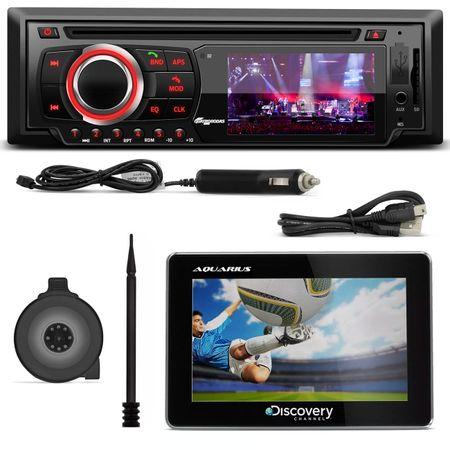 DVD-Quatro-Rodas-MTC6616-1-Din-3-Pol-BT-USB-Controle---GPS-Discovery-Channel-4--1-