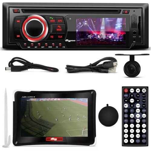 DVD-Quatro-Rodas-MTC6616-1-Din-3-Pol-Bluetooth-USB-Controle---GPS-7--1-