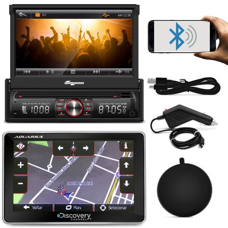 DVD-Quatro-Rodas-MTC6617-1-Din-7-Pol-Retratil-Bluetooth-USB---GPS-Discovery-Channel-5--1-