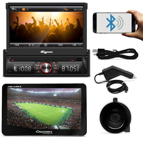 DVD-Quatro-Rodas-MTC6617-1-Din-7-Pol-Retratil-Bluetooth-USB---GPS-Discovery-Channel-7--1-