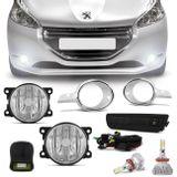 Kit-Farol-Milha-Peugeot-208-2012-a-2016-Aro-Cromado-Botao-Similar--Kit-Super-LED-3D-H11-6000k-Connect-Parts--1-